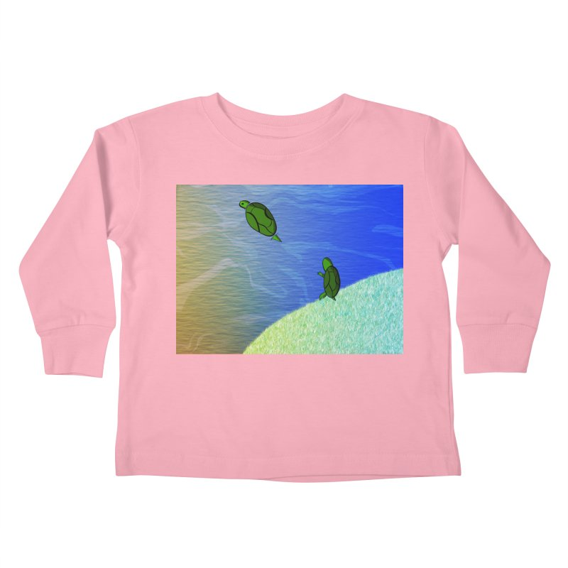 The Inevitability Kids Toddler Longsleeve T-Shirt by Every Drop's An Idea's Artist Shop
