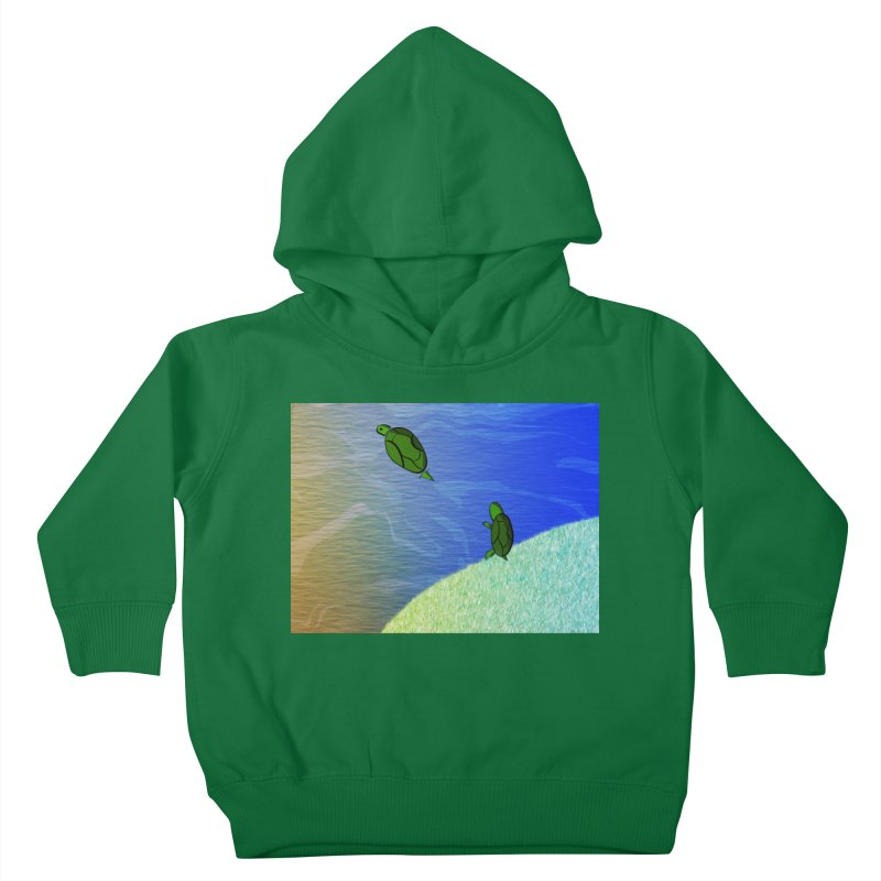 The Inevitability Kids Toddler Pullover Hoody by Every Drop's An Idea's Artist Shop