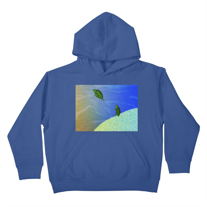 The Inevitability Kids Pullover Hoody by Every Drop's An Idea's Artist Shop
