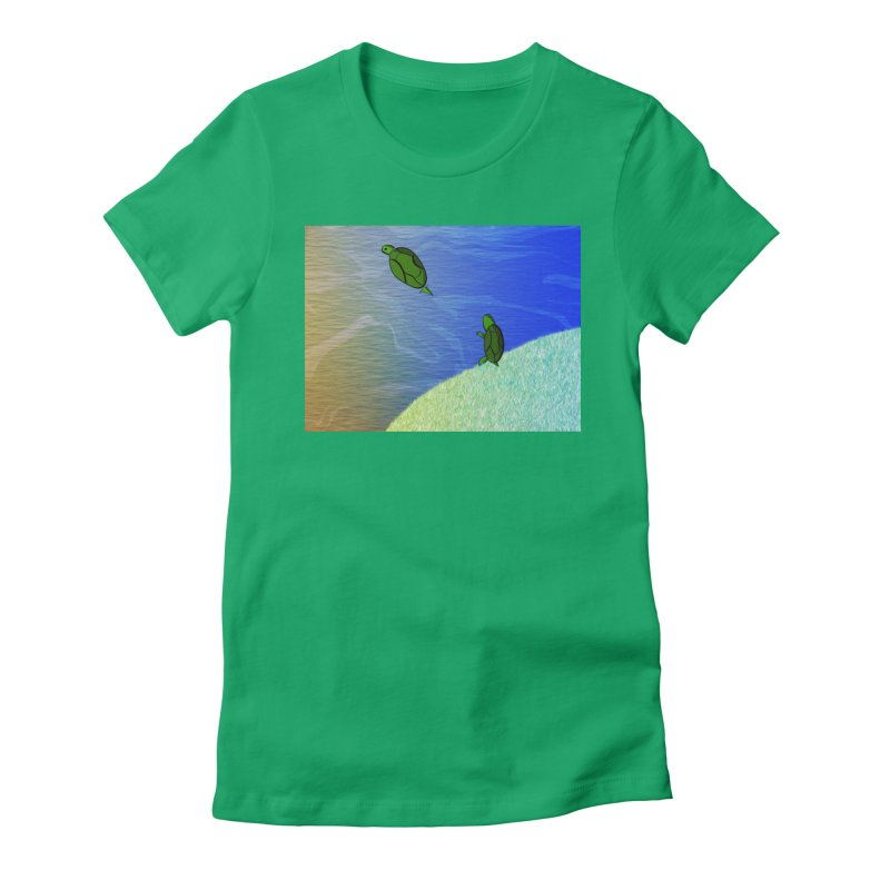 The Inevitability Women's Fitted T-Shirt by Every Drop's An Idea's Artist Shop