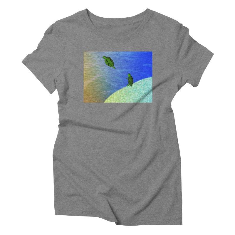 The Inevitability Women's Triblend T-Shirt by Every Drop's An Idea's Artist Shop
