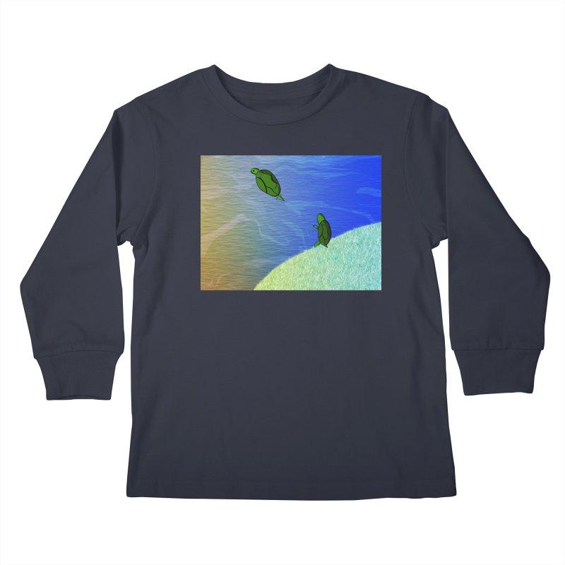 The Inevitability Kids Longsleeve T-Shirt by Every Drop's An Idea's Artist Shop