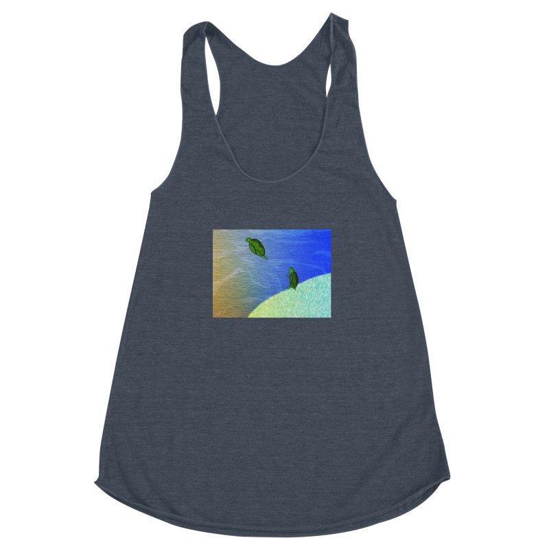 The Inevitability Women's Racerback Triblend Tank by Every Drop's An Idea's Artist Shop