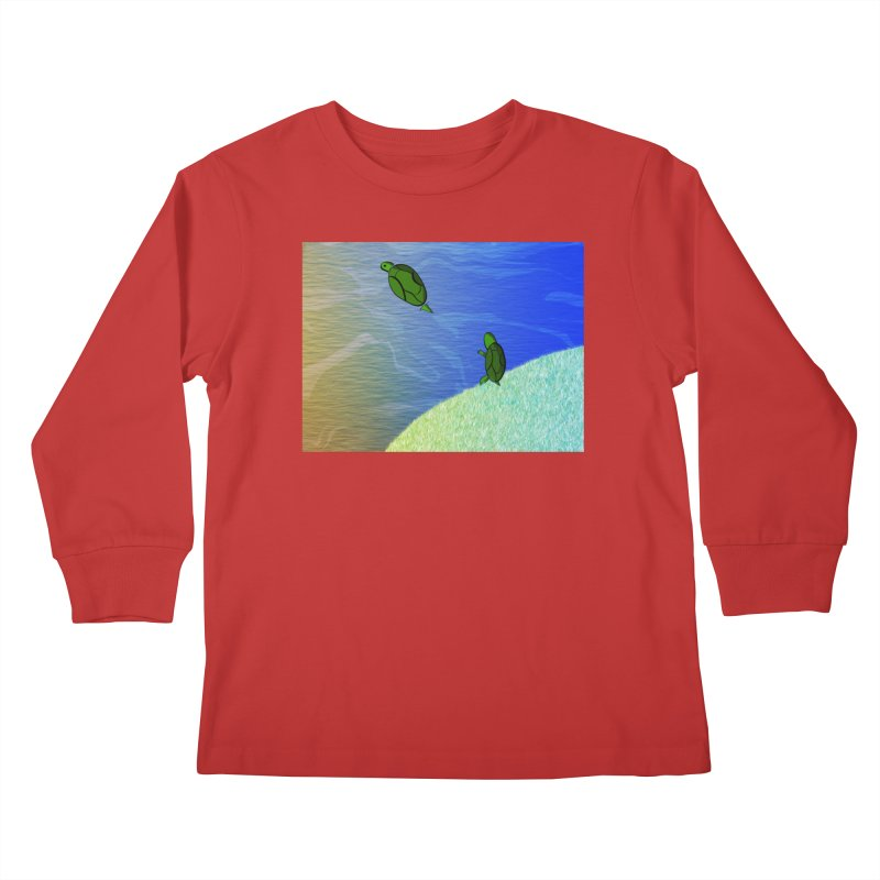 The Inevitability Kids Longsleeve T-Shirt by Every Drop's An Idea's Artist Shop