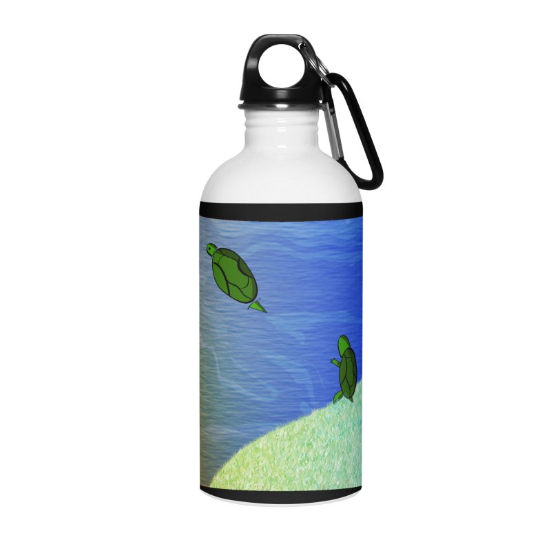 The Inevitability Accessories Water Bottle by Every Drop's An Idea's Artist Shop