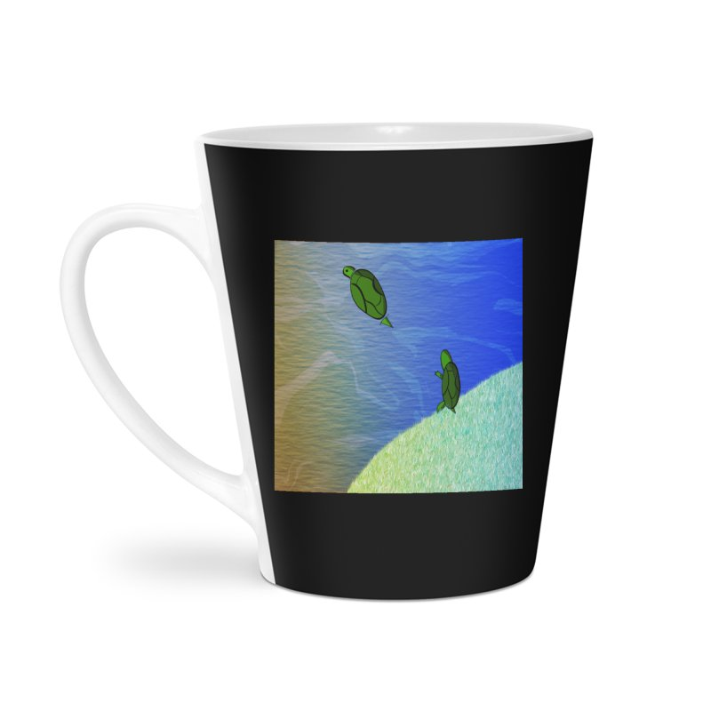 The Inevitability Accessories Latte Mug by Every Drop's An Idea's Artist Shop