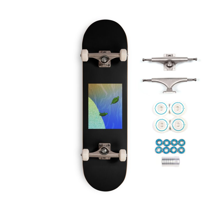 The Inevitability Accessories Complete - Basic Skateboard by Every Drop's An Idea's Artist Shop