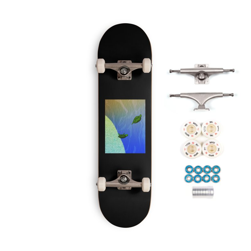 The Inevitability Accessories Skateboard by Every Drop's An Idea's Artist Shop