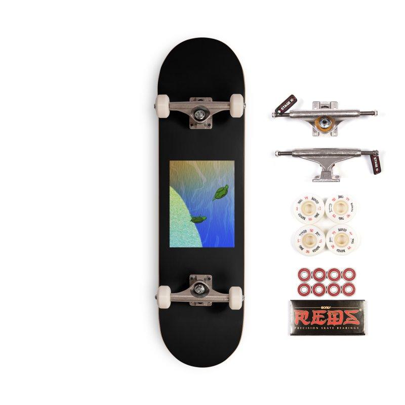 The Inevitability Accessories Skateboard by Every Drop's An Idea's Artist Shop