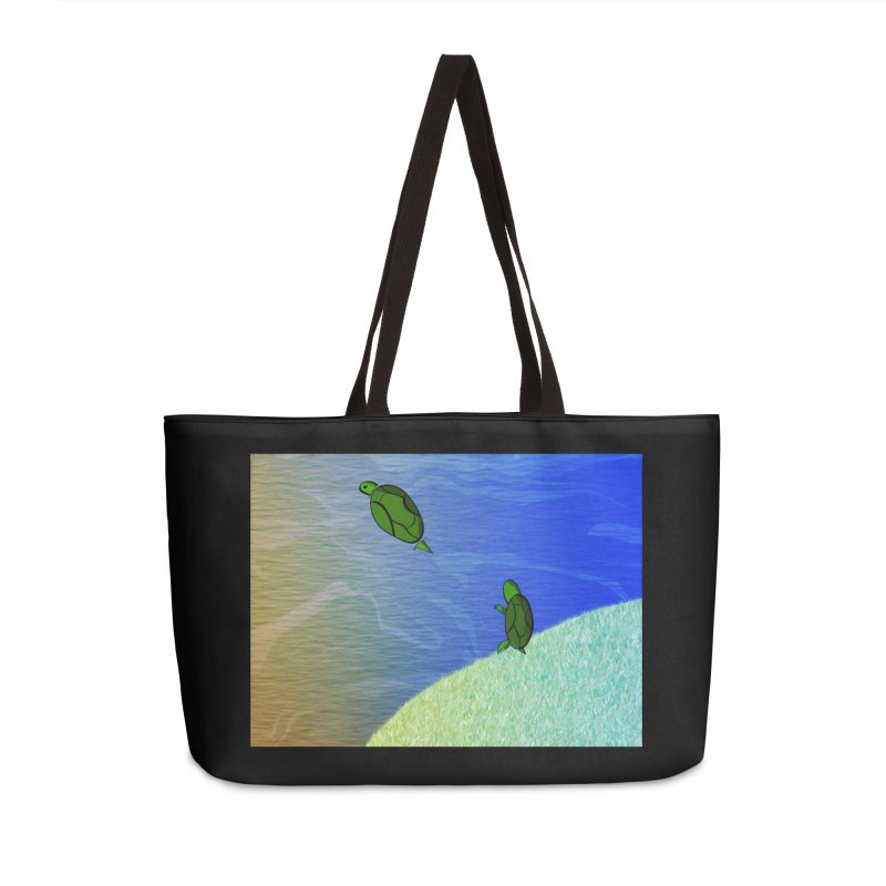 The Inevitability Accessories Weekender Bag Bag by Every Drop's An Idea's Artist Shop