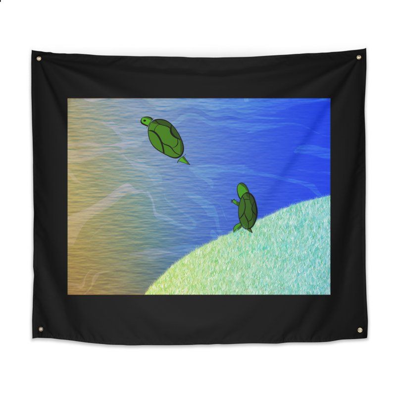 The Inevitability Home Tapestry by Every Drop's An Idea's Artist Shop