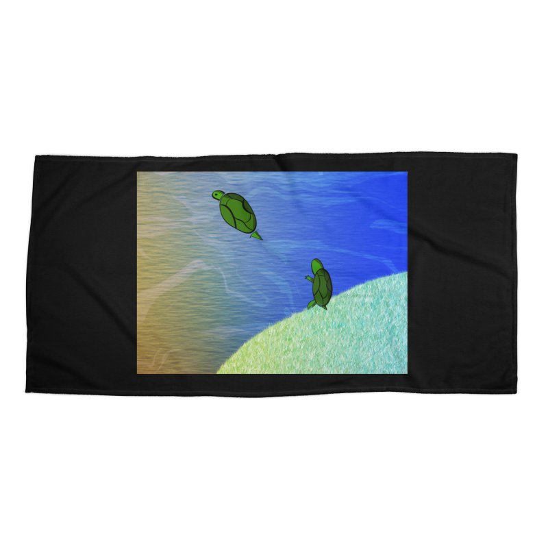 The Inevitability Accessories Beach Towel by Every Drop's An Idea's Artist Shop