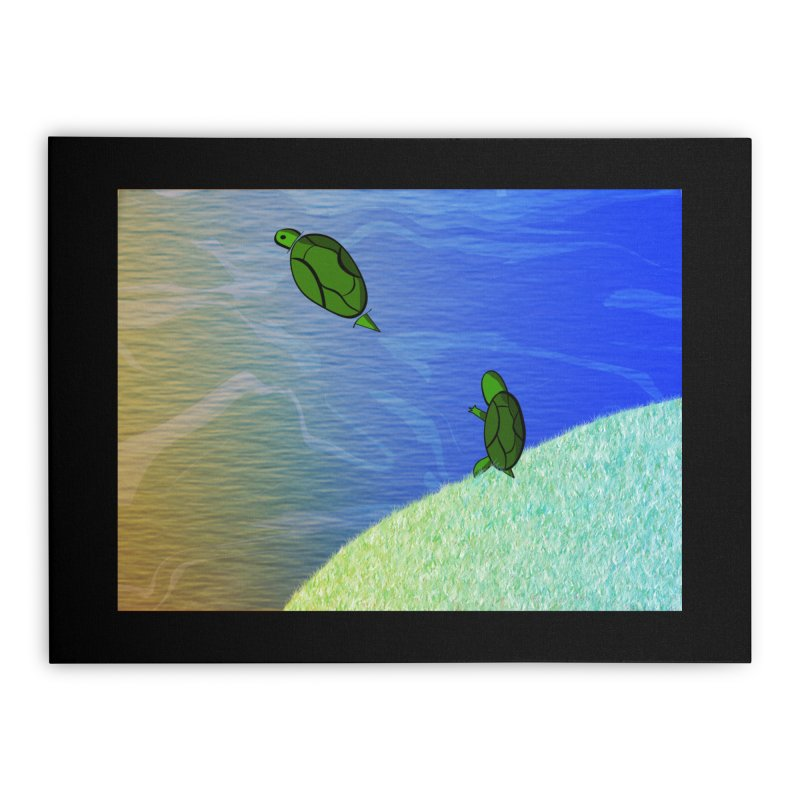 The Inevitability Home Stretched Canvas by Every Drop's An Idea's Artist Shop