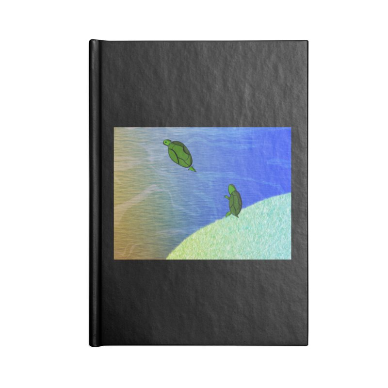 The Inevitability Accessories Lined Journal Notebook by Every Drop's An Idea's Artist Shop