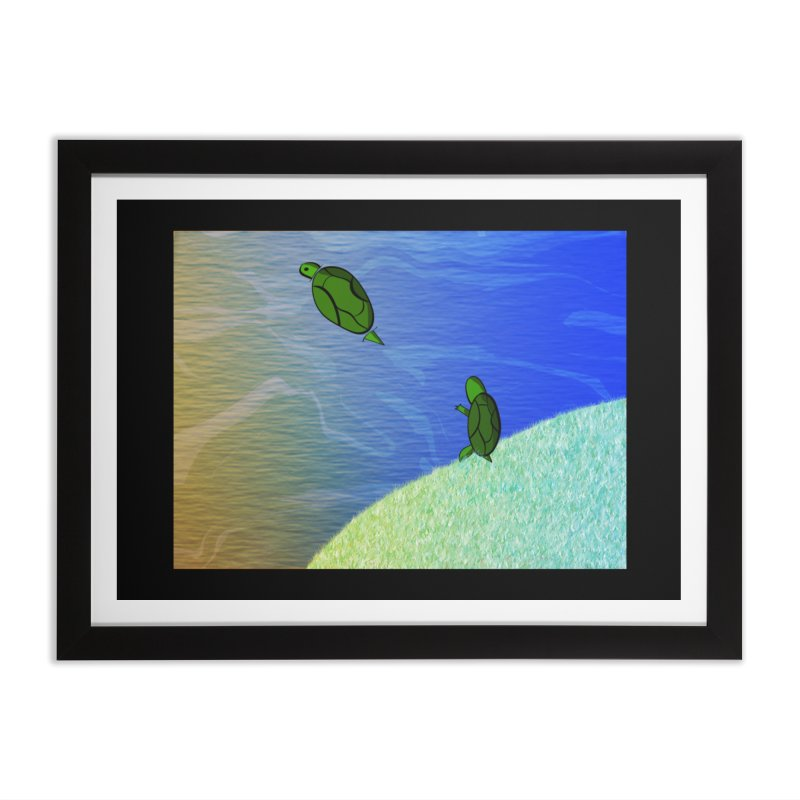 The Inevitability Home Framed Fine Art Print by Every Drop's An Idea's Artist Shop
