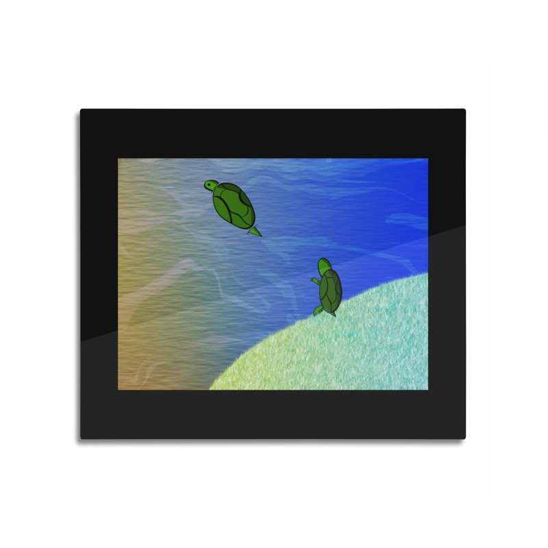 The Inevitability Home Mounted Acrylic Print by Every Drop's An Idea's Artist Shop