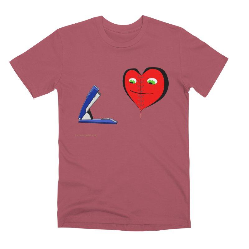 Piece Me Back Together Men's Premium T-Shirt by Every Drop's An Idea's Artist Shop