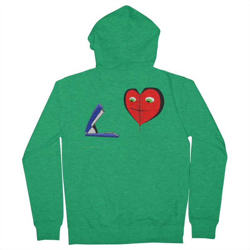 Piece Me Back Together Women's Zip-Up Hoody by Every Drop's An Idea's Artist Shop