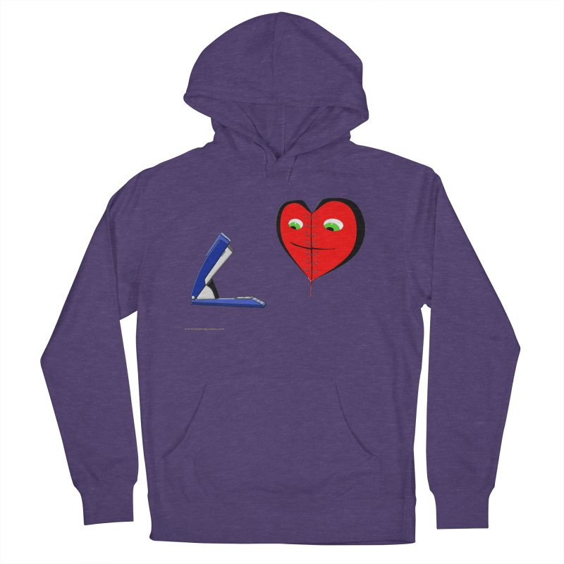 Piece Me Back Together Women's French Terry Pullover Hoody by Every Drop's An Idea's Artist Shop