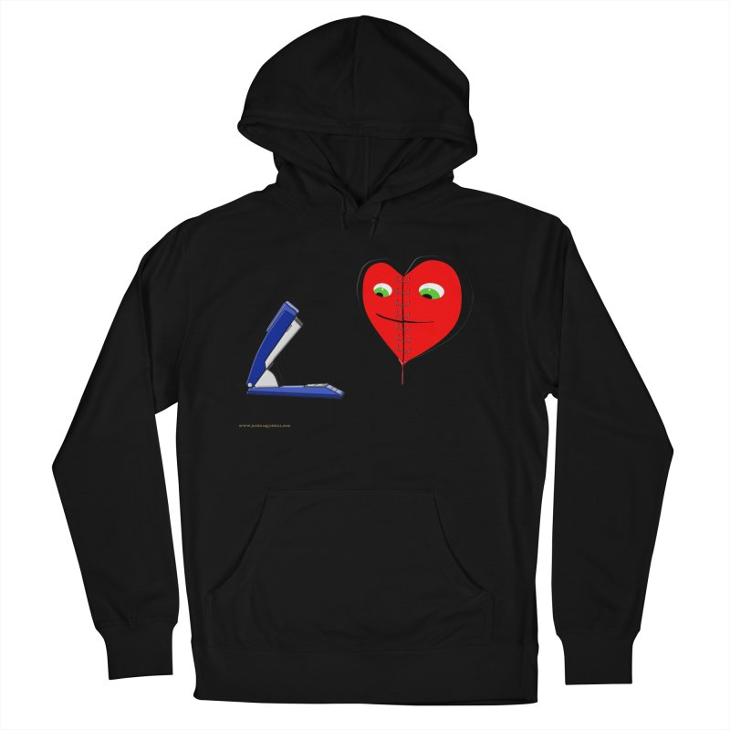 Piece Me Back Together Men's French Terry Pullover Hoody by Every Drop's An Idea's Artist Shop