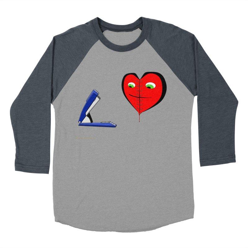 Piece Me Back Together Women's Baseball Triblend Longsleeve T-Shirt by Every Drop's An Idea's Artist Shop