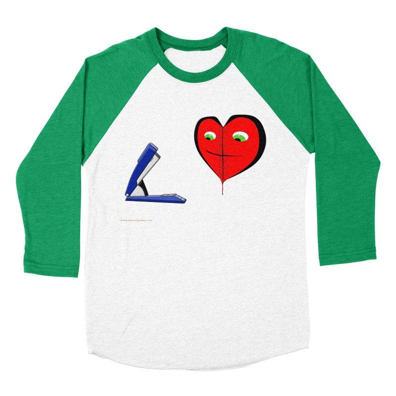 Piece Me Back Together Men's Baseball Triblend Longsleeve T-Shirt by Every Drop's An Idea's Artist Shop