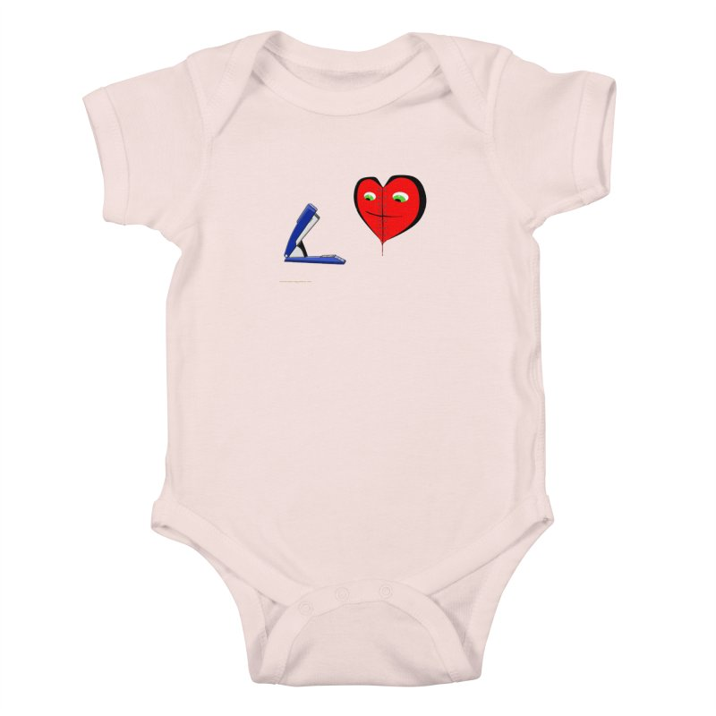Piece Me Back Together Kids Baby Bodysuit by Every Drop's An Idea's Artist Shop
