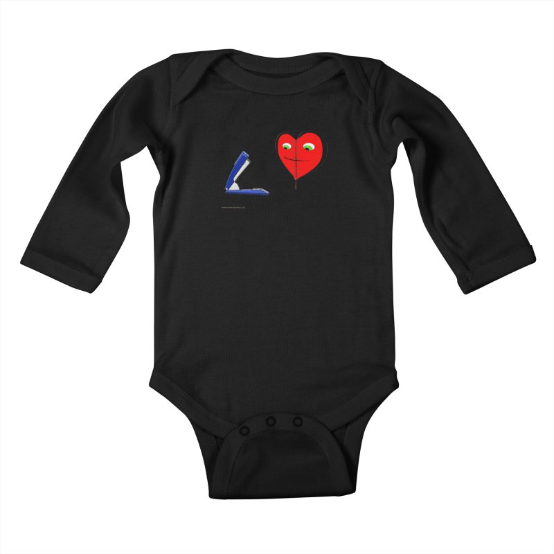 Piece Me Back Together Kids Baby Longsleeve Bodysuit by Every Drop's An Idea's Artist Shop