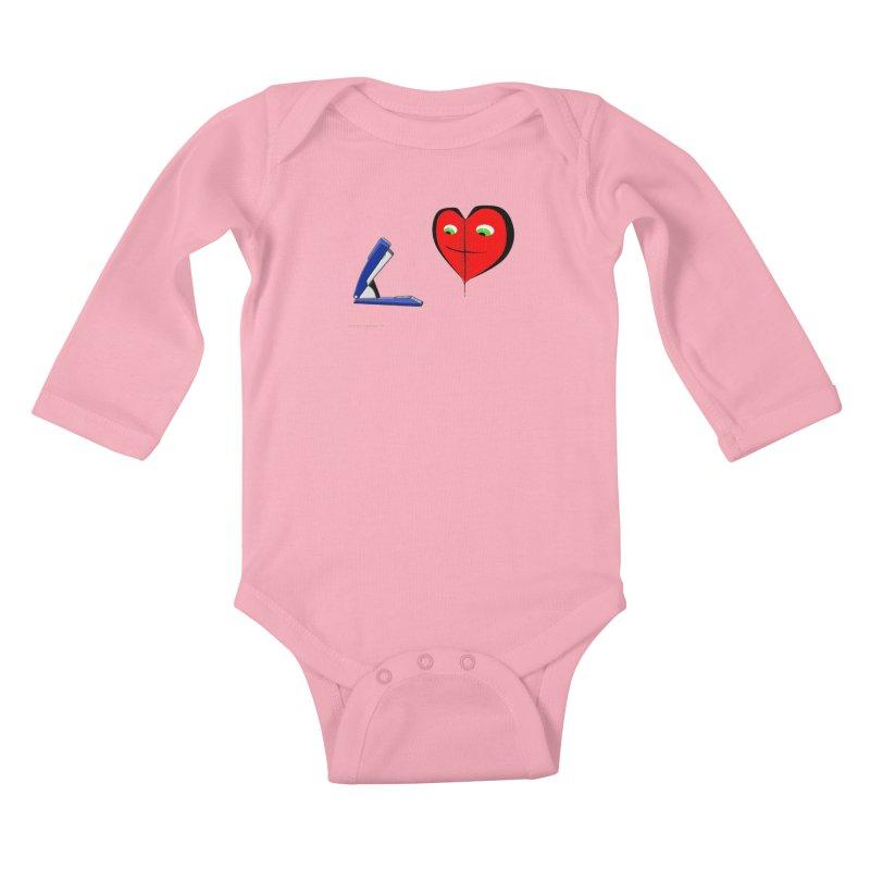 Piece Me Back Together Kids Baby Longsleeve Bodysuit by Every Drop's An Idea's Artist Shop
