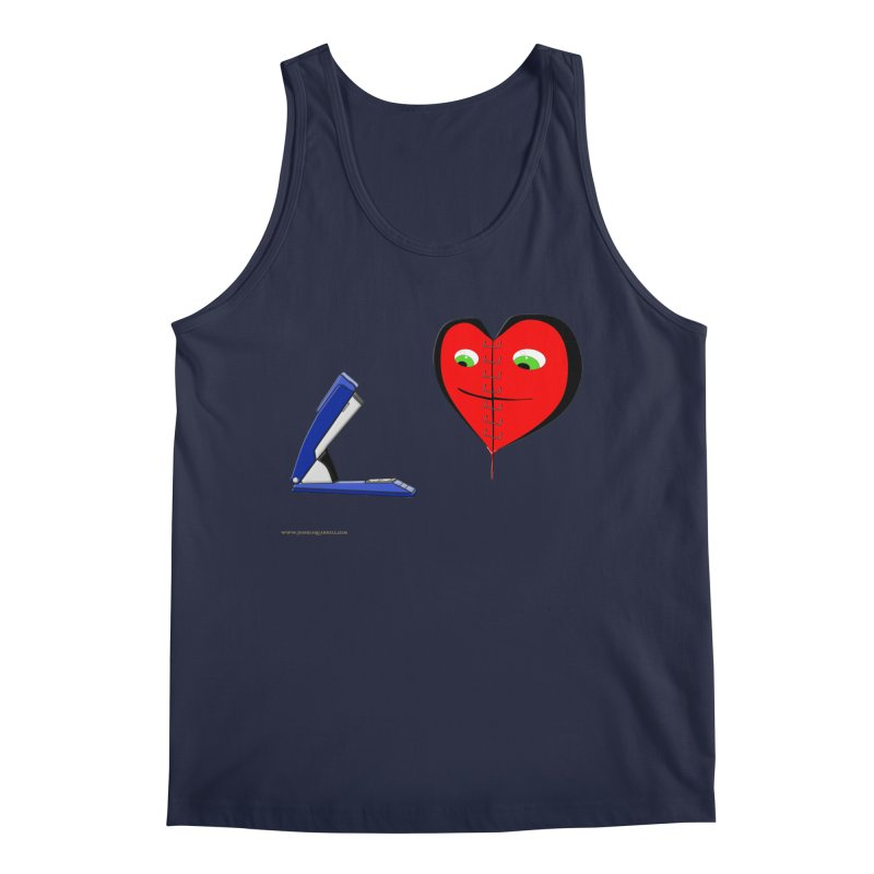 Piece Me Back Together Men's Regular Tank by Every Drop's An Idea's Artist Shop