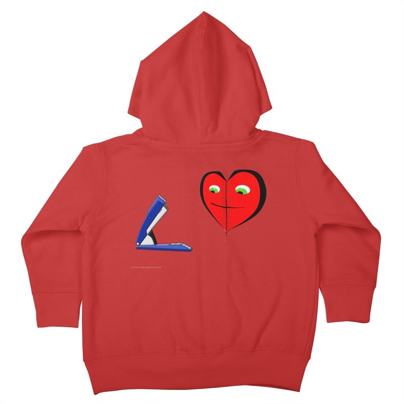 Piece Me Back Together Kids Toddler Zip-Up Hoody by Every Drop's An Idea's Artist Shop