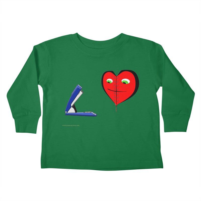 Piece Me Back Together Kids Toddler Longsleeve T-Shirt by Every Drop's An Idea's Artist Shop