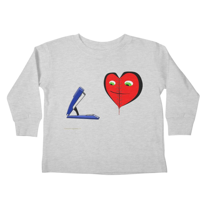 Piece Me Back Together Kids Toddler Longsleeve T-Shirt by Every Drop's An Idea's Artist Shop