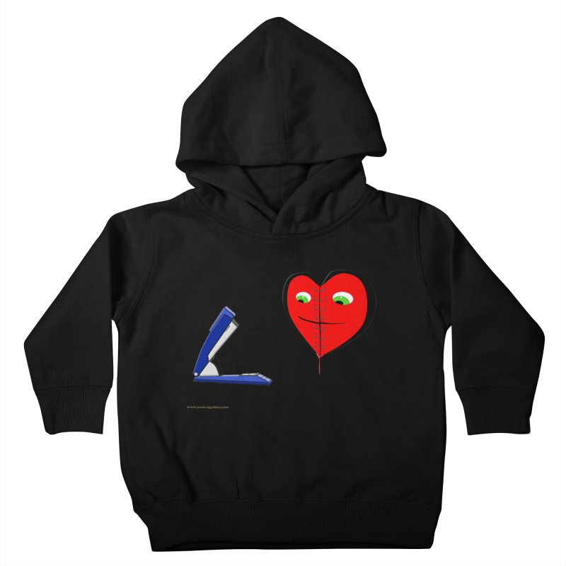 Piece Me Back Together Kids Toddler Pullover Hoody by Every Drop's An Idea's Artist Shop