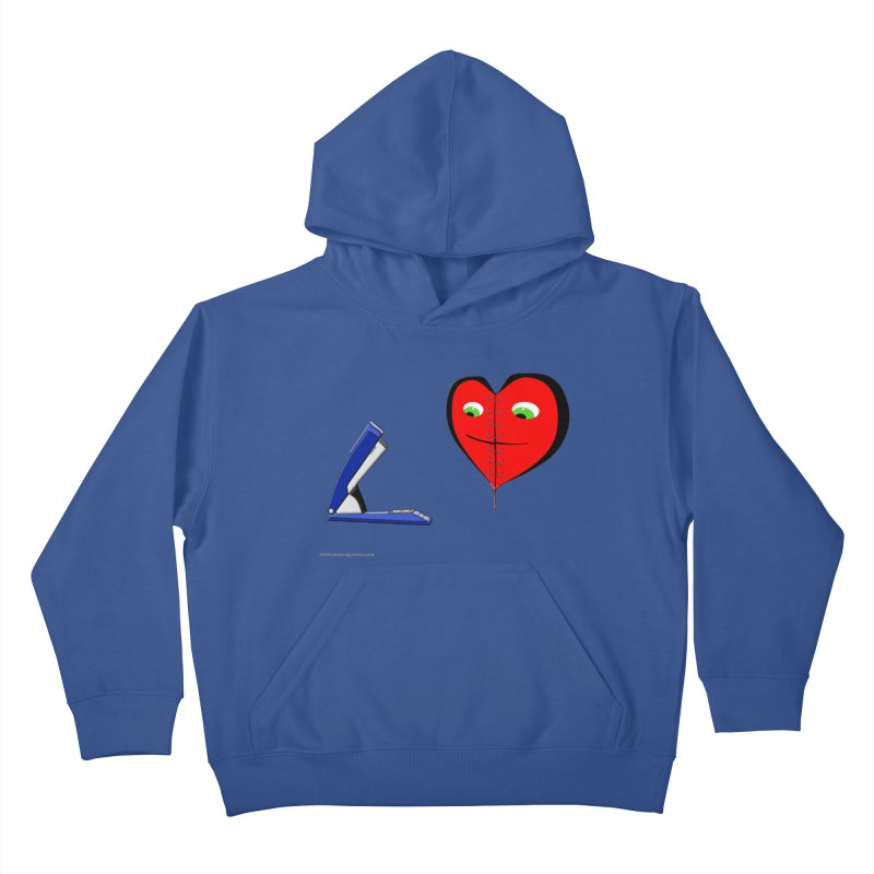 Piece Me Back Together Kids Pullover Hoody by Every Drop's An Idea's Artist Shop