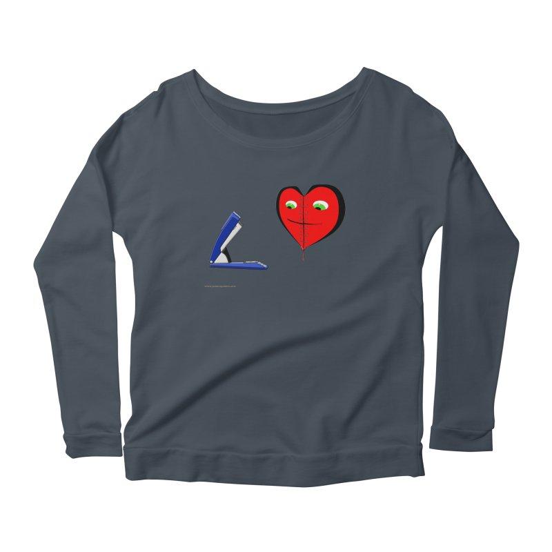 Piece Me Back Together Women's Scoop Neck Longsleeve T-Shirt by Every Drop's An Idea's Artist Shop