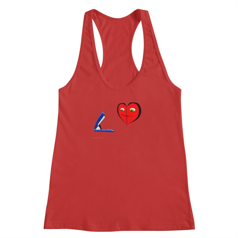 Piece Me Back Together Women's Racerback Tank by Every Drop's An Idea's Artist Shop