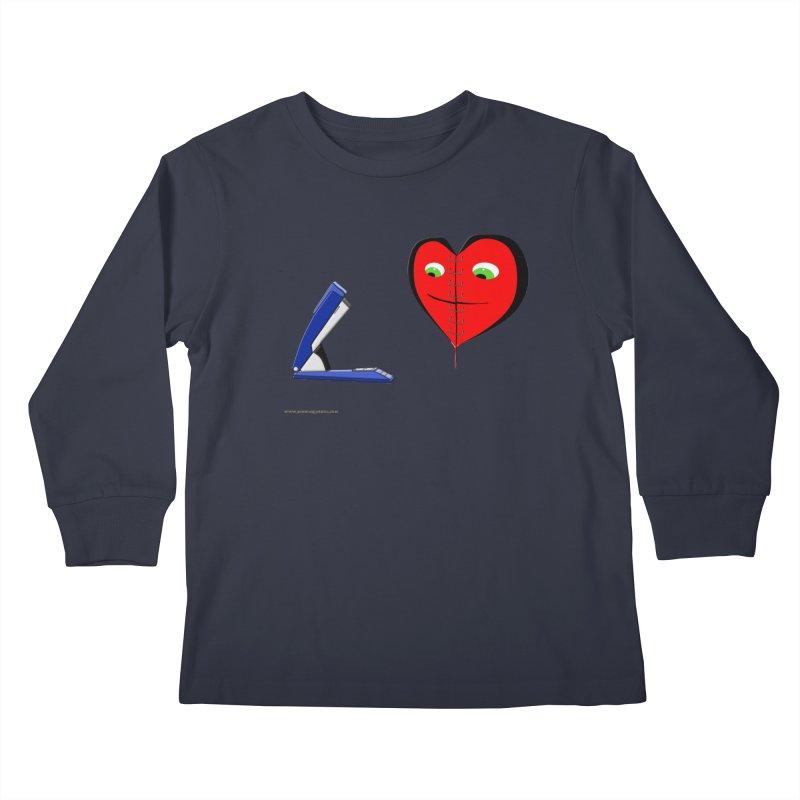 Piece Me Back Together Kids Longsleeve T-Shirt by Every Drop's An Idea's Artist Shop