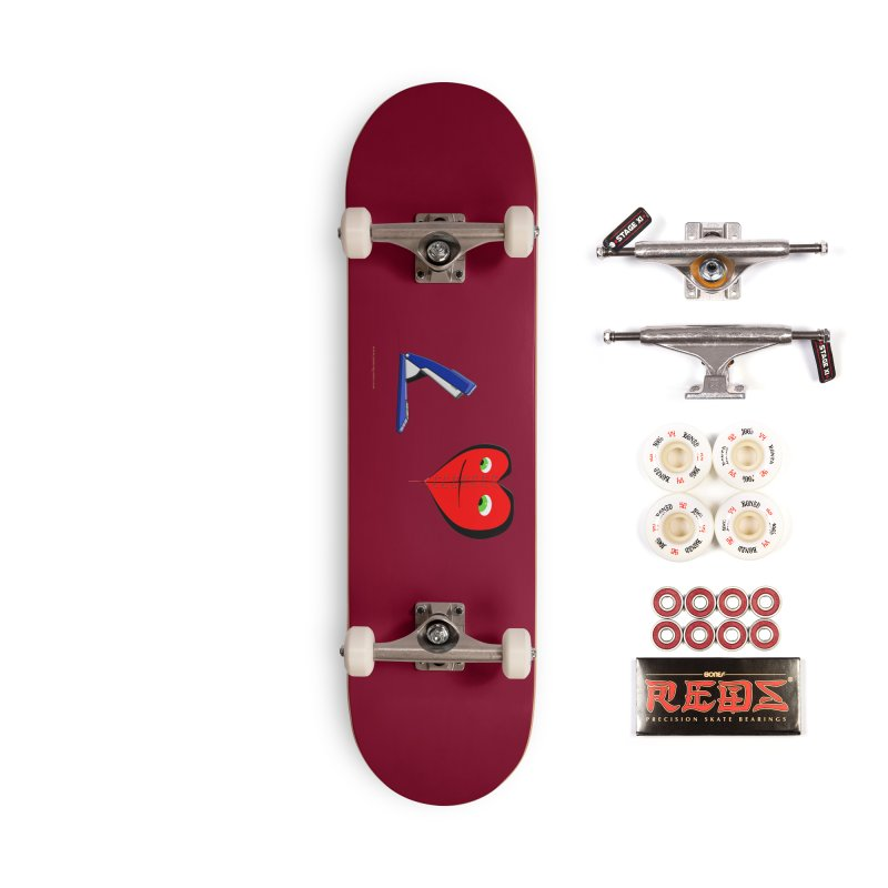 Piece Me Back Together Accessories Complete - Pro Skateboard by Every Drop's An Idea's Artist Shop