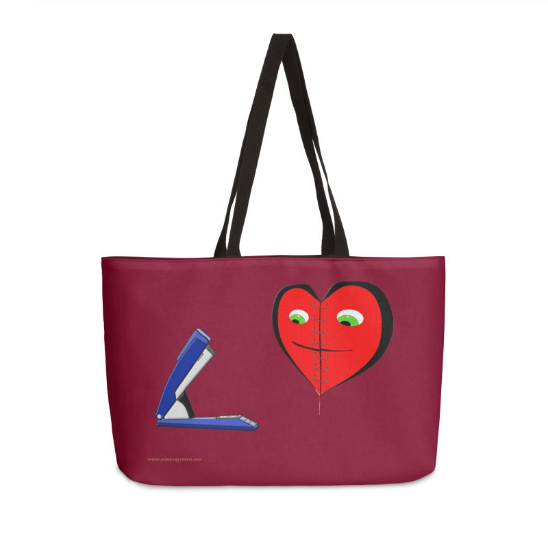 Piece Me Back Together Accessories Weekender Bag Bag by Every Drop's An Idea's Artist Shop