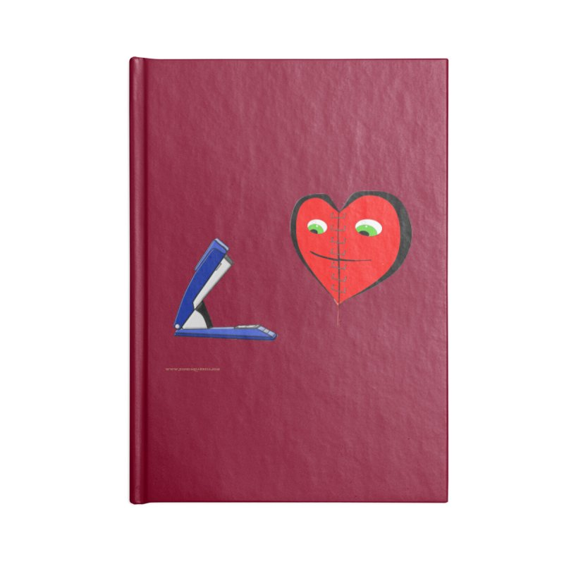 Piece Me Back Together Accessories Blank Journal Notebook by Every Drop's An Idea's Artist Shop