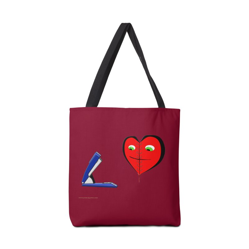 Piece Me Back Together Accessories Bag by Every Drop's An Idea's Artist Shop