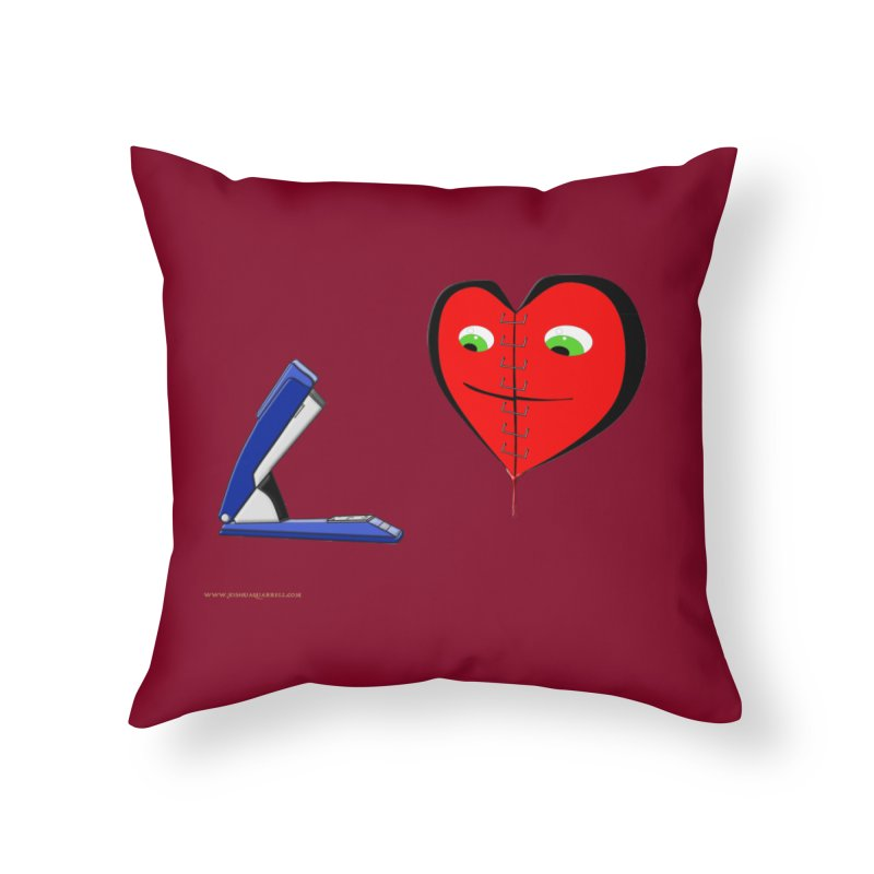 Piece Me Back Together Home Throw Pillow by Every Drop's An Idea's Artist Shop
