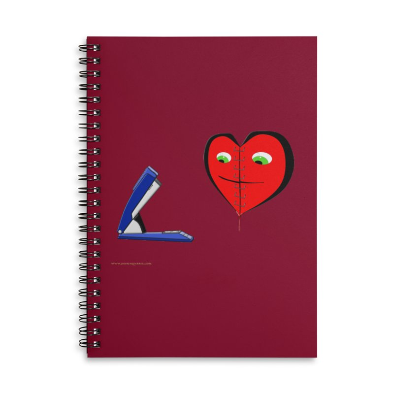 Piece Me Back Together Accessories Lined Spiral Notebook by Every Drop's An Idea's Artist Shop