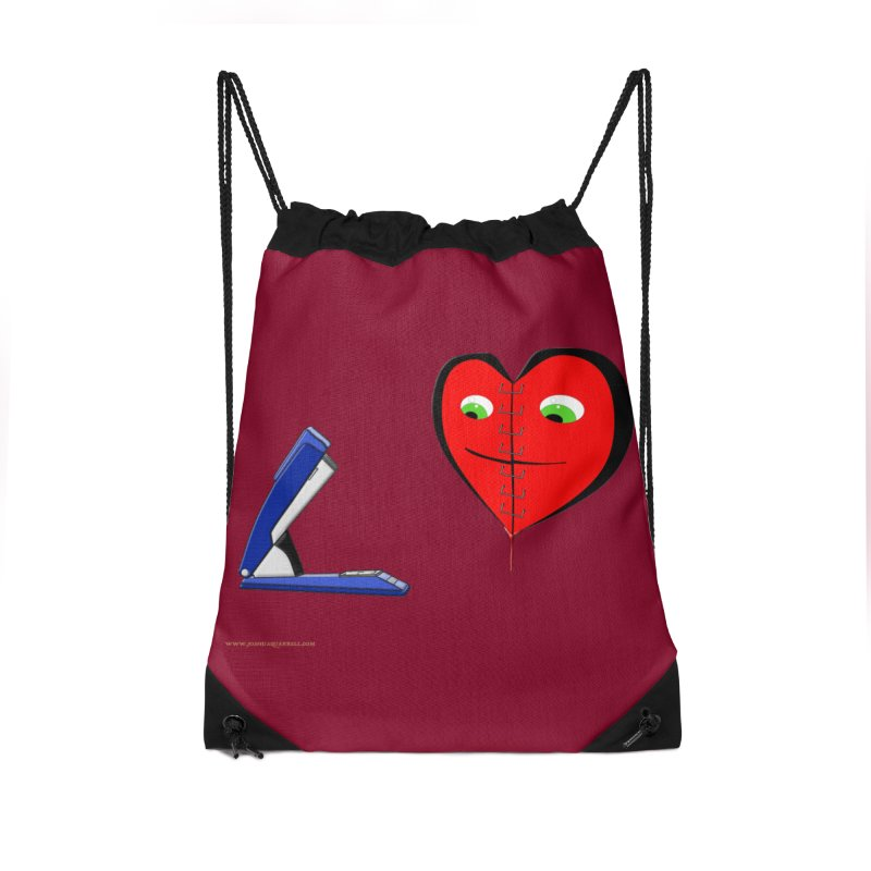 Piece Me Back Together Accessories Drawstring Bag Bag by Every Drop's An Idea's Artist Shop