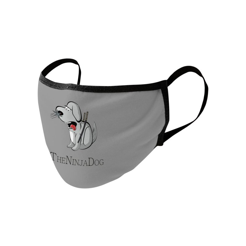 XTheNinjaDog Accessories Face Mask by Every Drop's An Idea's Artist Shop