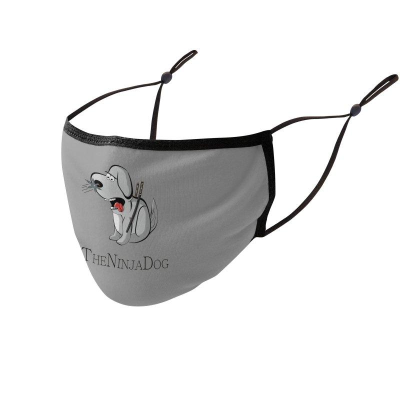XTheNinjaDog Accessories Face Mask by Every Drop's An Idea's Artist Shop
