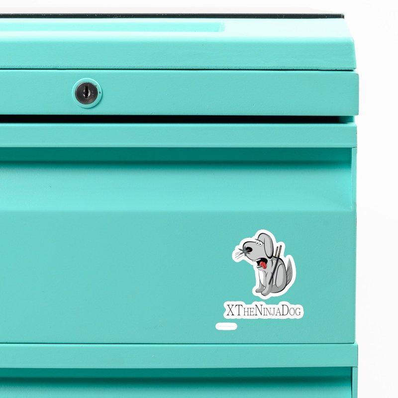 XTheNinjaDog Accessories Magnet by Every Drop's An Idea's Artist Shop