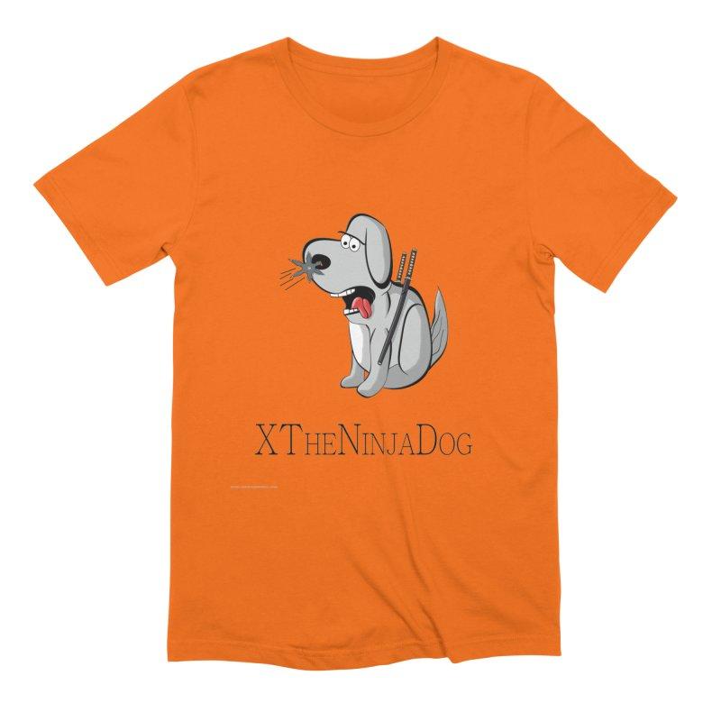 XTheNinjaDog Men's T-Shirt by Every Drop's An Idea's Artist Shop
