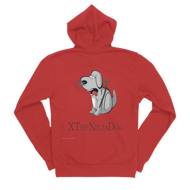 XTheNinjaDog Women's Zip-Up Hoody by Every Drop's An Idea's Artist Shop